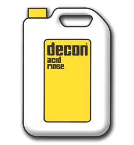 Decon-acid-rinse-bottle